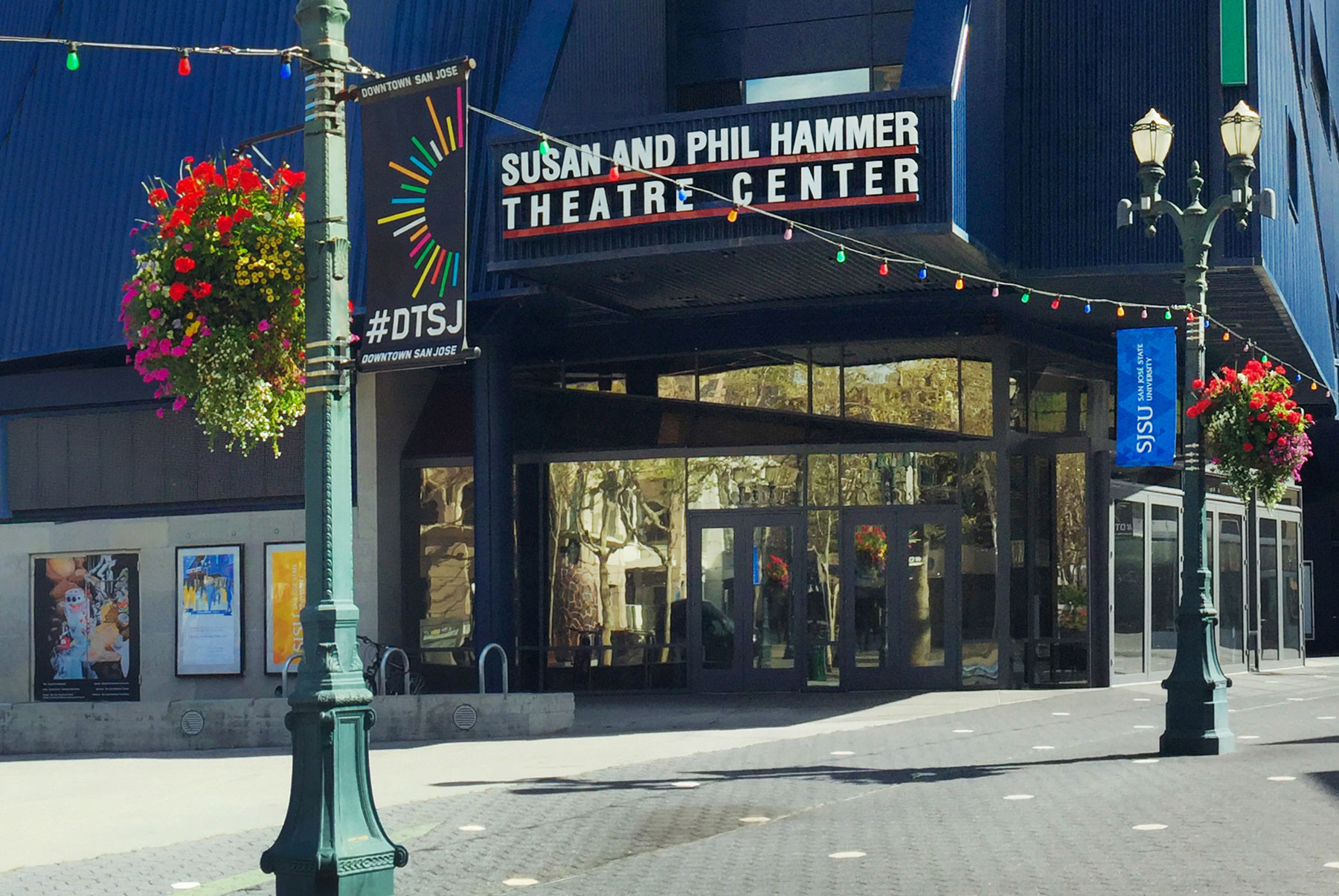 Hammer Theatre Center located in hte heart of downtown San Jose.