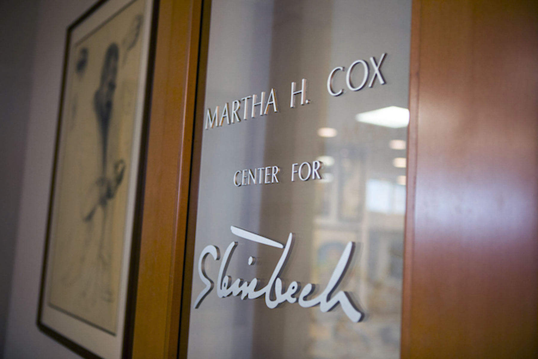 Martha Heasley Cox Center for Steinbeck Studies.
