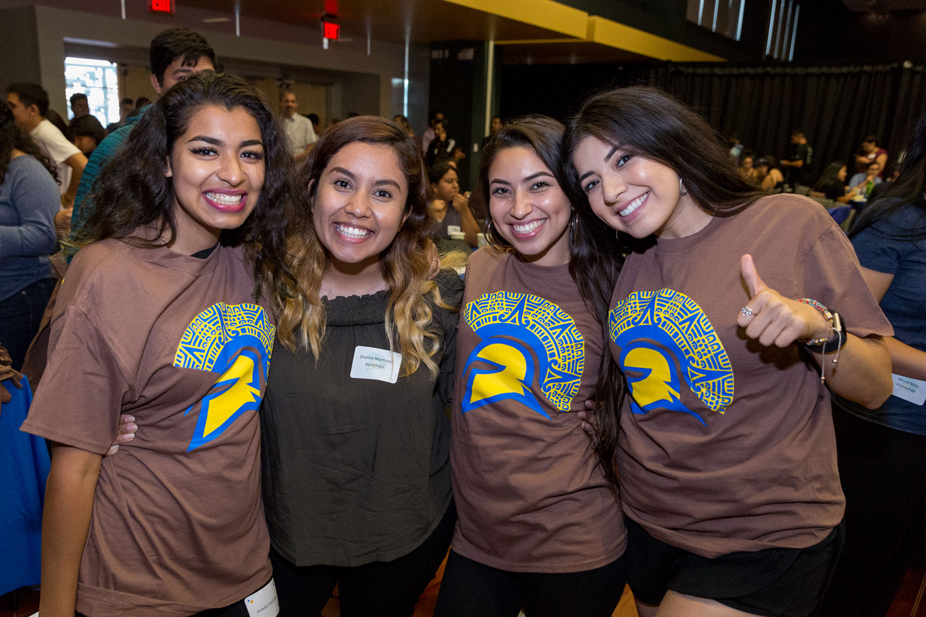 SJSU students at the Chicanx/Latinx Fall Welcome.