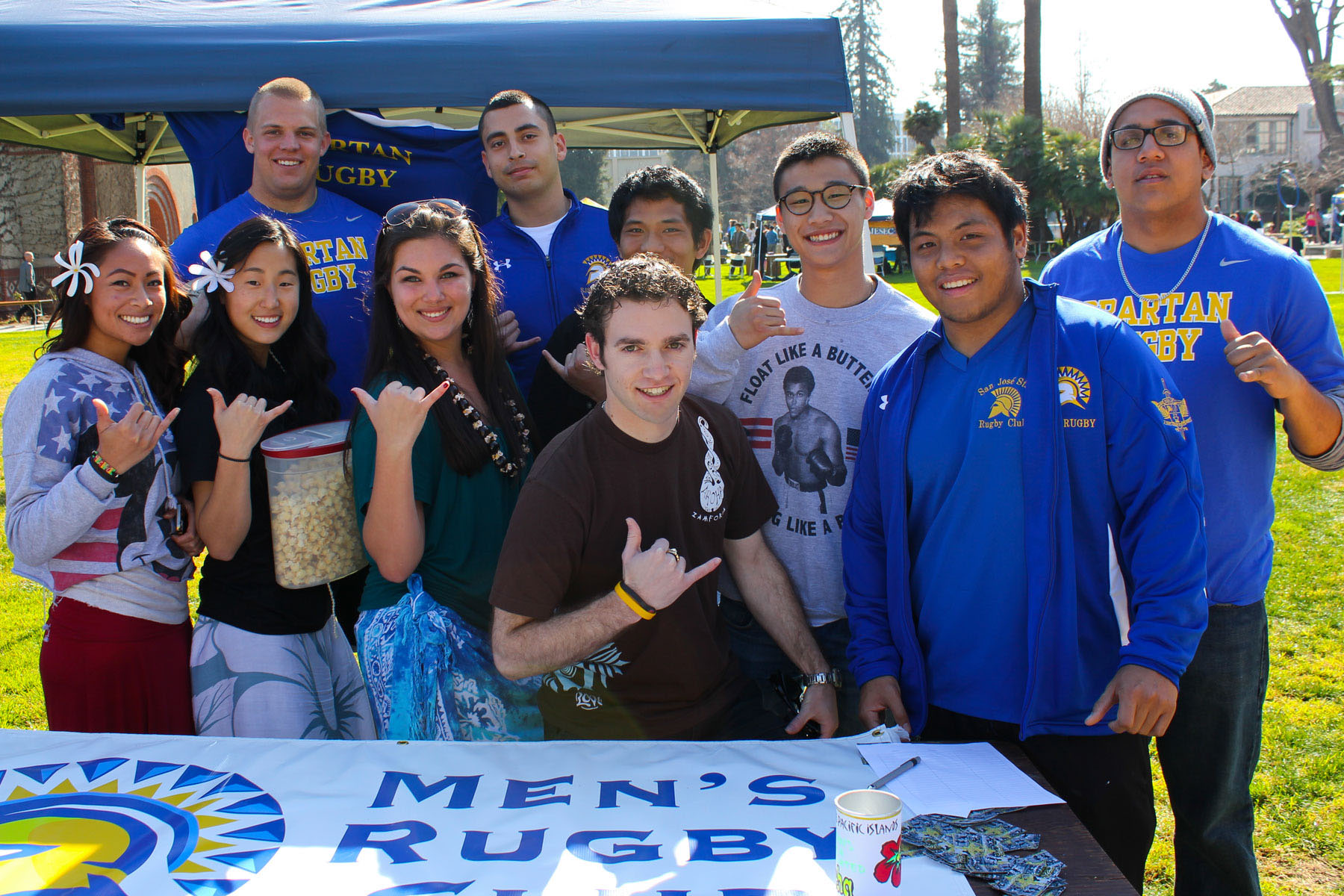 Student Organizations, Men's Rugby Club.