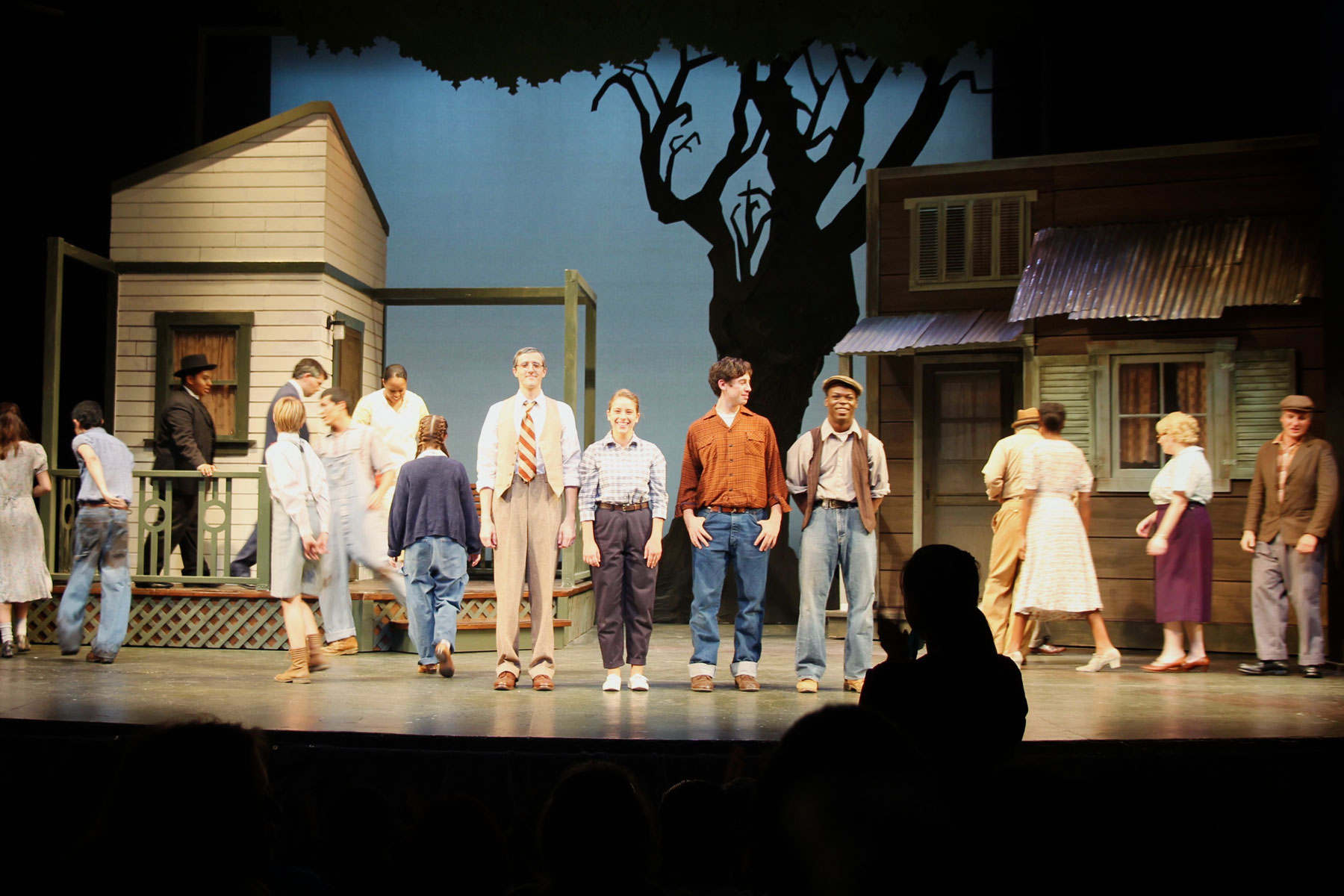 To Kill a Mockingbird play from the Theatre Arts department.