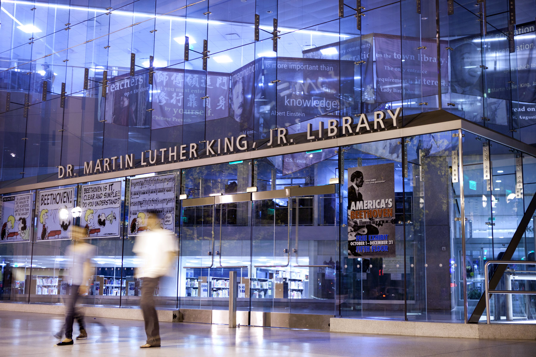 Dr. Martin Lutehr King, Jr. Library