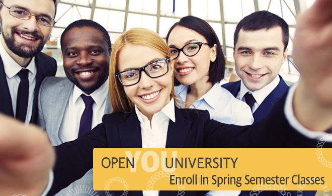 Open University: Enroll in Spring Semester Classes