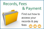 Records, Fees & Payment