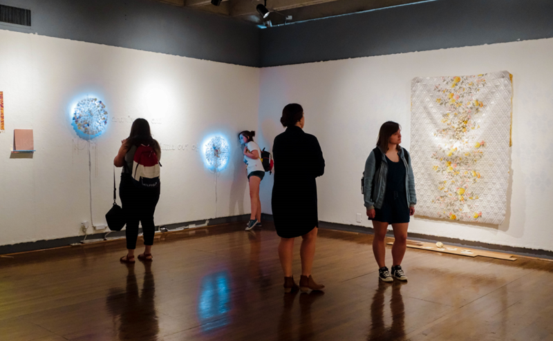 Gallery View, Patricia Ludovici, MFA Spatial Art, Spring '19