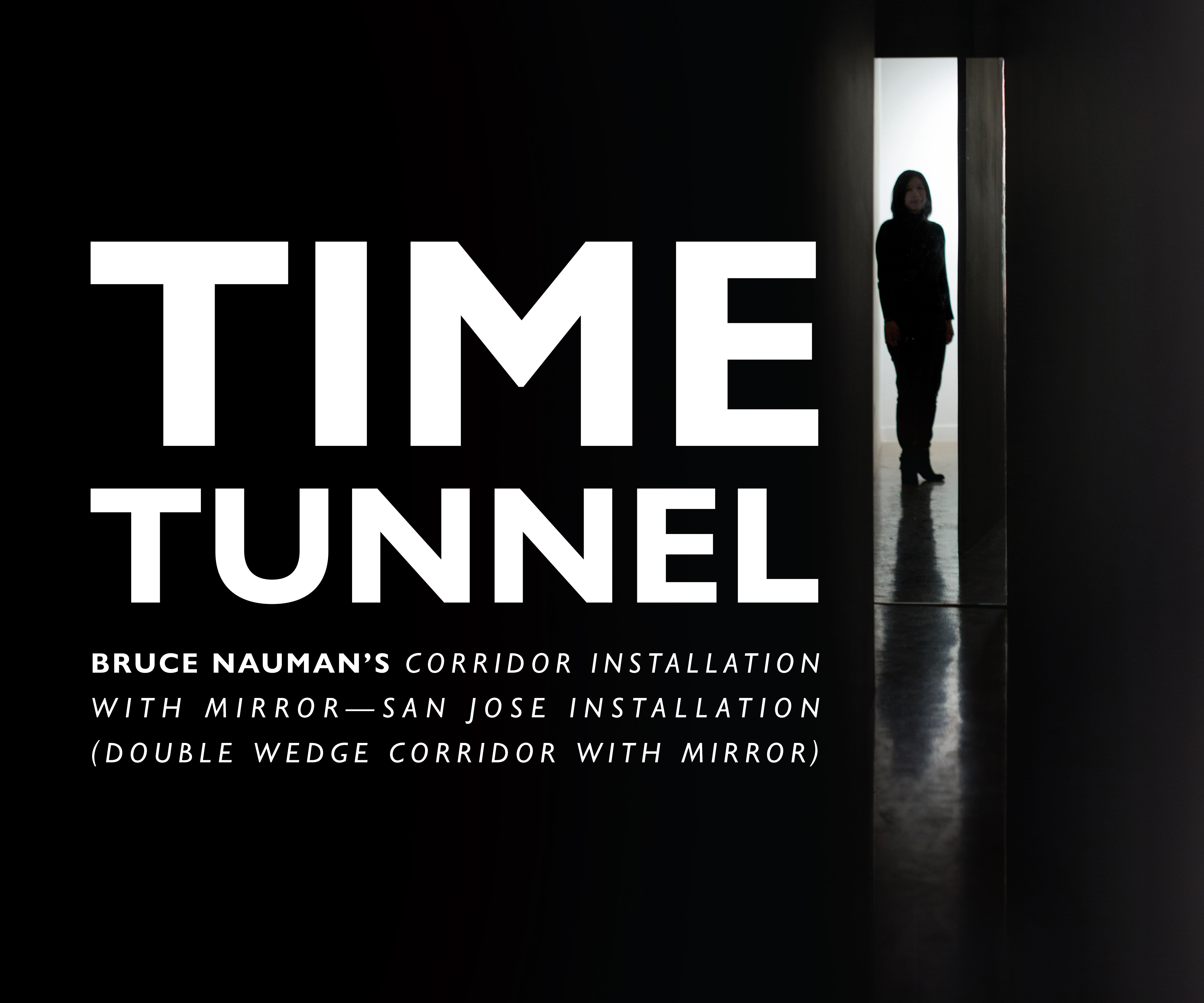 Bruce Nauman Time Tunnel cover