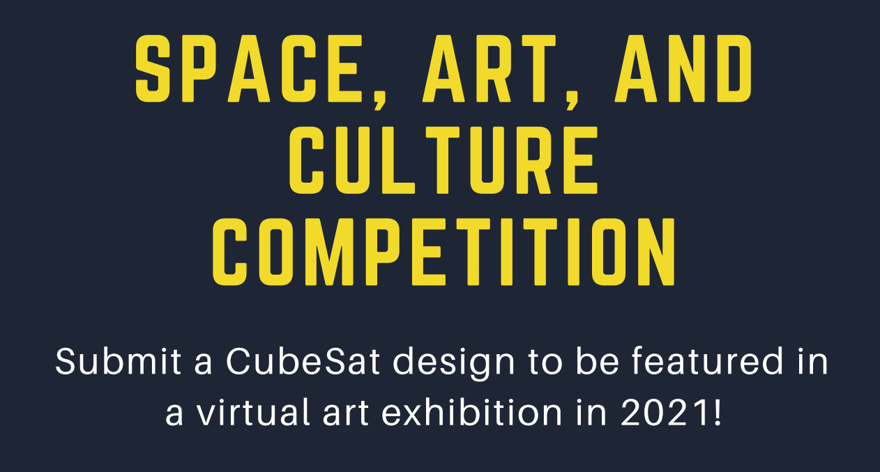 Space Art and Culture Competition banner