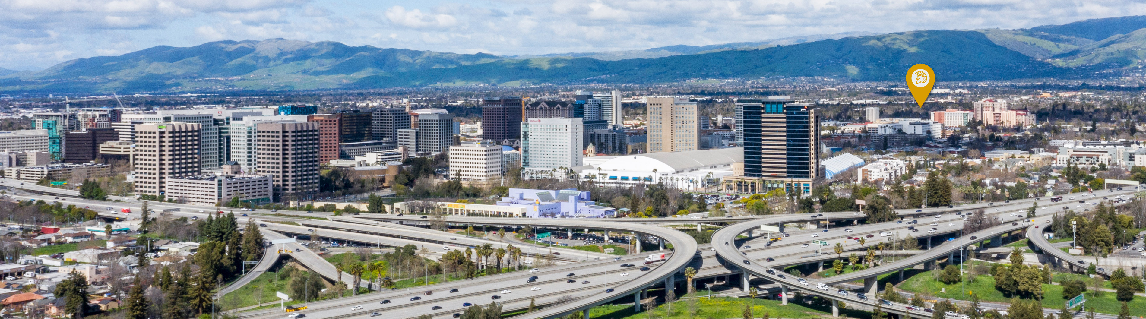 Located in the heart of Northern California's largest city.